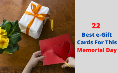 eGift Cards For This Memorial Day
