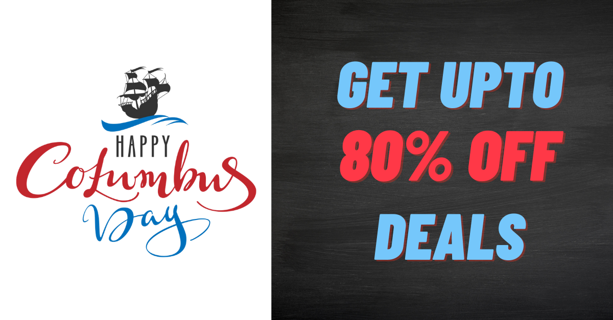 Columbus Day Discounted Items