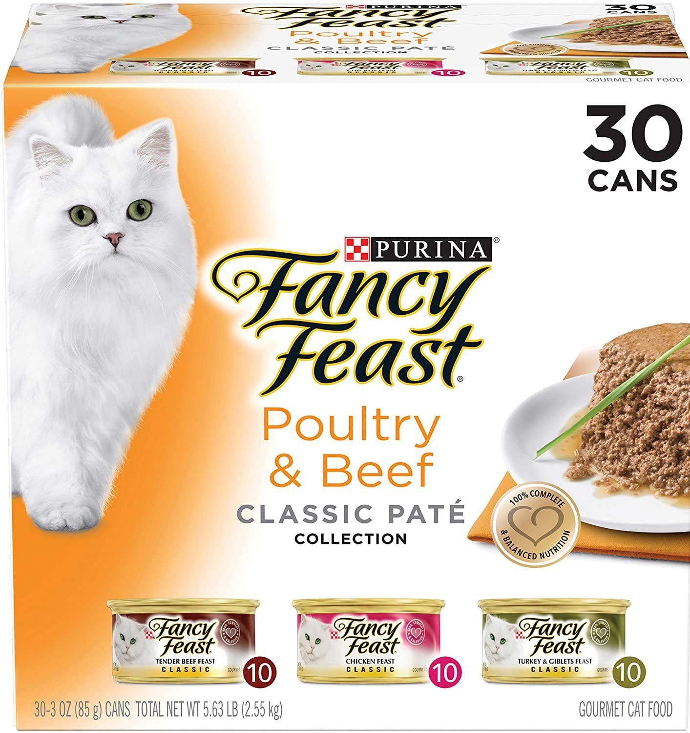 Natural Wet Cat Food Variety Pack