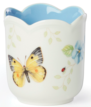 Butterfly Meadow Filled Candle