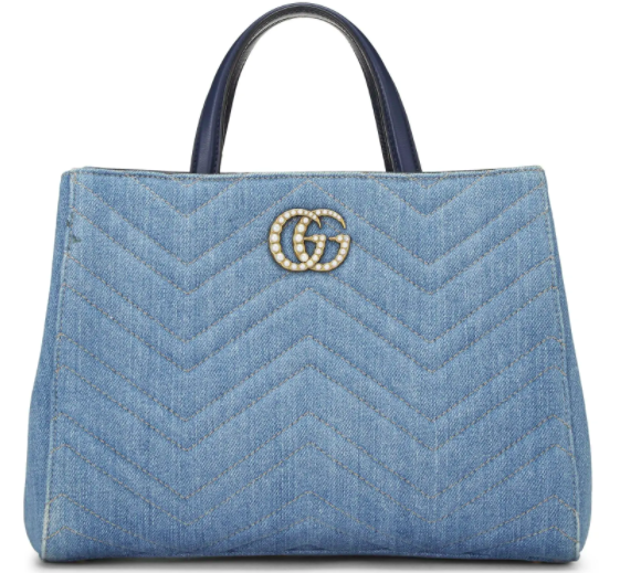 GG Pearly Marmont Satchel
