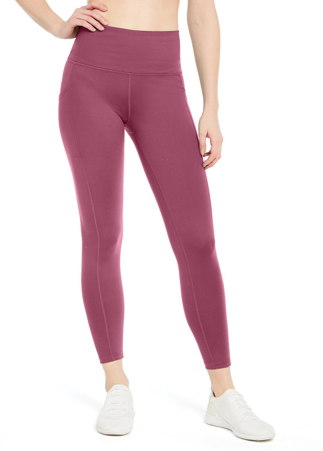 High-Waist Side-Pocket Leggings