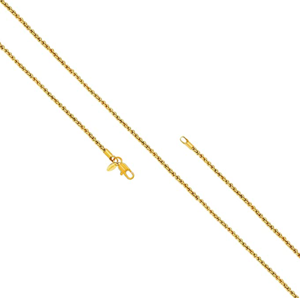 LIFETIME JEWELRY 1mm Rope Chain Necklace