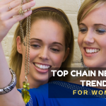Top 10 Chain Necklace Trends You Can't Miss This Women's Day 2021