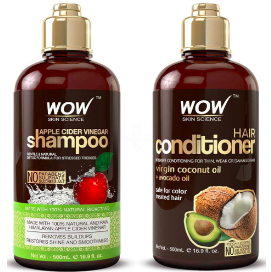Shampoo and Hair Conditioner Set
